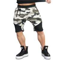 Wholesale Fitness Engineering - 2018 New Gyms Body Engineers Hot Camouflage Cotton Shorts Men's Fitness bermuda Trainings Men's Breathable Loose SportsShorts