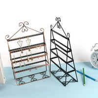 Wholesale floor accessories for sale - Women Creative Show Shelf Solid Metal Classical Design Pendant Frame for Lady Home Dressing Table Accessories Storage Racks md X