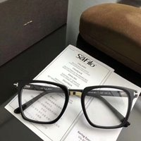 5f7940bad7 NEW AAA+ T5523 Square plank-metal frame 52-20-145unisex prescription glasses  with clear lens and full-set case OEM factory price