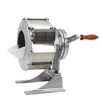 máquina de destruição manual venda por atacado-BEIJAMEI Alta Qualidade Comercial Cenoura De Batata Slicer Máquina De Corte Manual Vegetal De Batata Sllicer Shredder Para Venda
