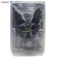 figura de acción dc comics al por mayor-juguetes envío gratis Envío gratis DC Comics Superhéroe Batman The Dark Knight Rises PVC Figura de acción de juguete 8 \