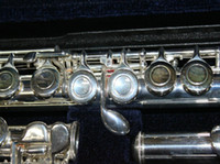 Wholesale Woodwind Musical Instruments - Wholesale - Musical instruments flute YFL 211S 211 Flute with case sliver Woodwind Flute free shipping