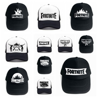 Wholesale wholesale for women - 24colors Fortnite man baseball cap male snapback summer Breathable hats man hip hop hat for women funny Quick drying caps MMA177 30pcs