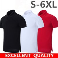 Wholesale camisa casual slim fit - embroidery Polo Shirt Men Brand Designer camisa polo Summer Slim Fit Turn Down Collar Mens Polos Short Sleeve tee shirt homme plus size 5xl