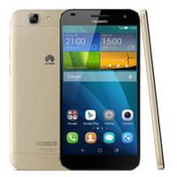 huawei dual android телефоны оптовых-Восстановленное в Исходном Huawei G7 4G LTE 5.5 дюймов Quad Core 2 ГБ RAM 16 ГБ ROM Dual SIM 13.0MP Android Смарт-Мобильный Телефон Бесплатный DHL 1 шт.