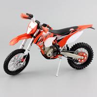 Wholesale Motor Bike Models - Bambini automaxx 1:12 scala KTM 350 EXC DOHC EXC-F Supercross Enduro motocross Moto Diecast metallo Modello motor bike toy