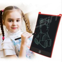 Wholesale learning draw for kids online - 8 Inch Digital LCD Ewriter Kids Drawing Writing Board Tablet With Pen Electronic Writing for kids Learning