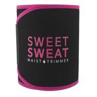 cinturón para ejercicio al por mayor-Sweet Sweat Premium Waist Trimmer Hombres Mujeres Cinturón Slimmer Ejercicio Ab Waist Wrap with color retail box