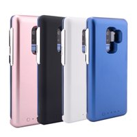 Wholesale samsung galaxy note bank for sale - Original Power Bank Battery Case For Samsung Galaxy S8 S9 Plus Note S7 Edge Magnets Holder Wireless Cover With Retail Package