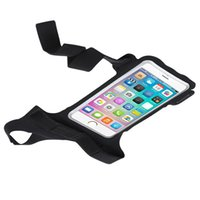 Wholesale apple handset for sale - Run Motion Handset Arm Bag Apple Iphone Riding Thumb Arms Band Outdoors Waterproof Wristlet Universal Sports Wristband xx ii