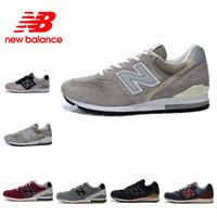 Wholesale Dslr Shoe - new balance shoes men women new balanced shoes NB996 M996 DSLR mens Sneakers Retro Running Shoes 2018 New Arrival High Quality