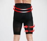 ingrosso shaper del corpo di sollevamento del culo-Uomo Vita alta Intimo Shaper per il corpo Uomo Butt Lifting Shapewear Vita Reggiseno Mutandine Pance Controlling Body Shaper