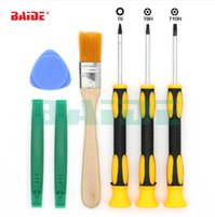 Wholesale tool for xbox for sale - Group buy 7 in Repair Tools Kit with T6 T8H T10H Screwdriver For Xbox Video Game Controller Gamepad Handle Repair Fix set
