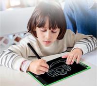 kinder doodle board großhandel-Am billigsten! 8,5 Zoll LCD Schreibplatte writting Pad Kinder Reißbrett Doodle Pads Elektronische Grafik Zeichnung Tablet