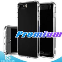 iphone açık tampon toptan satış-Premium Apple iPhone X XR XS MAX 8 Vaka Için Crystal Clear Şok Emme Teknolojisi Tampon Yumuşak TPU Kapak Kılıf iphone 7 8 Artı Kılıfları