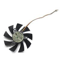 tarjeta de video msi al por mayor-Nuevo 85mm T129215SU 4Pin Reemplace el rodamiento de dos bolas para MSI Gigabyte GTX 1060 RX 480 460 570 580 R9 290X Tarjeta de video 0.5A Ventilador del ventilador