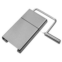 Wholesale stainless board - 2016 Hot Sale Kitchen Stainless steel Wire Cutting Cheese Slicer Cutter Board Butter cutter cheese slice cheese cutting knife