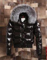 ingrosso grande cappotto di pelliccia-Donne di marca Armoise Big Fur Corto Cappotto Designer Designer Cappuccio rimovibile Ultra leggero Cappotto trapuntato perfetto Inciso perfetto
