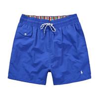 satış mayo toptan satış-Sıcak satış Tasarımcı Erkek moda Polo Plaj adam için Pantolon Mayo Sörf Naylon Şort eşofman jogging yapan Pantolon Yüzmek Aşınma Boardshorts