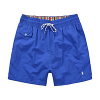 ingrosso vendita dei pantaloncini di nuotata del mens-Vendita calda Designer Moda uomo Polo Beach Pantaloni per uomo Costumi da bagno Surf Nylon Shorts tuta jogger Pantaloni Swim Wear Boardshorts