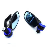 Wholesale motocycle accessories for sale - Group buy For Round Handlebar Aluminum Alloy Motocycle Rearview Mirrors Moto End Motor Side Mirrors Motorcycle Cafe Racer Accessories
