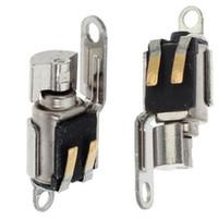 vibradores de alta vibração venda por atacado-10 pçs / lote motor do vibrador para iphone 5 5c 5s do telefone móvel flex cable peças de reposição de alta qualidade de vibração peça de reposição para iphone5 5c