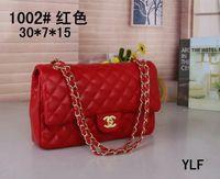 rote handtaschen zum verkauf großhandel-Heißer verkauf marke mode vintage handtaschen damen taschen designer handtaschen für frauen leder schwarz weiß rot kette tasche cross body umhängetaschen