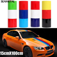 Wholesale vw car decals - Car Sticker Full Body Flag Auto Stickers And Decals Whole Front Door Window 3D Vinyl Funny Car-styling For BMW VW Accessories