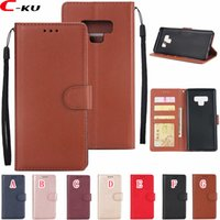 Wholesale oppo for - Korea Leather Wallet Case For Samsung Galaxy NOTE9 A6 Plus A8 J7 plus J3 J6 J4 J2 Pro Iphone G OPPO R15 Pro Skin Cover