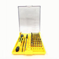 Wholesale Laptop Lcd Screen Wholesale - 45 in 1 Manual screwdriver repair pry kit Cell Phone Repairing Tools lcd screen separator laptop Disassemble tool kit