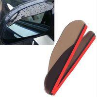 Wholesale rain guard cars for sale - Group buy 2PCS Flexible Car Rear View Mirror Anti Rain Snow Guard Shade Auto Weatherstrip DXY88