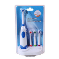 Cepillo de dientes eléctrico con 4 cabezas de cepillo Higiene oral  Productos de salud dental para el cuidado de la belleza Energía de la  batería e36e7914c8e0