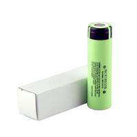 mini painéis solares para telefones venda por atacado-100% Top qualidade 18650 Bateria NCR18650B 3400 mah 3.7 V Bateria de Lítio Recarregável de Leiteria Plana Top para Caixa de cigarro E mod