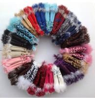 Fashion winter warm girl leather rabbit hand warm winter winter fingerless gloves rabbit fur fingerless gloves 50 pcs