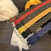Wholesale red zinc chain for sale - Group buy GO BUCKLE Reversible Belt Men Belt Togo Epsom Top Quality Ostrich Leather Bag Real Leather Men Belt