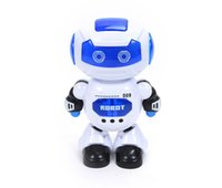 Wholesale best sing - Intelligence dance electric alpha robot toy educational toys children toy with LED light with sing and dance function best kids toys