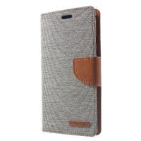 günlüğü için deri çantalar toptan satış-IPhone XR için MERCURY GOOSPERY Kılıf Tuval Günlüğü Standı Mıknatıs ile PU Deri Cüzdan Kılıf Flip Telefon Kapak iphone XR Çapa