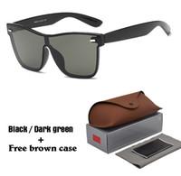 f3347410eb Nueva llegada Moda Cat Eye Sunglasses Mujeres hombres Diseñador de la marca  Gafas de sol Mujer Gafas de sol UV400 lentes con estuches y estuche