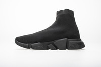 calcetines grandes al por mayor-Best Speed ​​Runner Triple Black White Red Running Calcetines Zapatillas Race Runners Botas Hombres Mujeres Zapatillas de deporte con caja original Tamaño grande 35-48