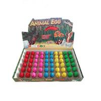 yumurta çocuk oyuncağı toptan satış-030 Büyüyen Sevimli Sihirli Kuluçka Dinozor Yumurta Yenilik Gag Oyuncaklar Çocuk Çocuk Eğitici Oyuncaklar Hediyeler Için Büyüyen Su Büyüyen Dinozor