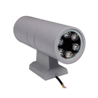 hotelgartenlampe großhandel-LED-Garten-Licht 3W 6W 9W 12W 18W Up Down Light AC 85 ~ 265V Single Head Wandleuchte Innen für Outdoor-Hotel Garden Licht