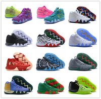 Wholesale basket fashion men - 2018 March What the 4 Multicolor Basketball Shoes for High quality Men's 4s Purple Fluorescent Green Classic Fashion Sports Sneakers US 7-12