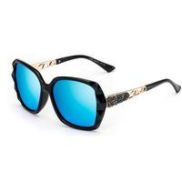 Wholesale Borders Frames - Drive Travel Sports Womens Sunglasses Europe And America Luxury Brand Sunglasses Cross-Border Explosion Polarizer Resist UV Sun Glasses