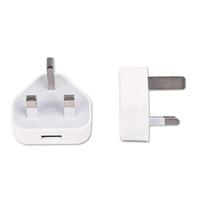 beyaz usb şarj cihazı uk toptan satış-OEM Beyaz İNGILTERE Tak USB Şarj AC Duvar şarj için usb Güç Adaptörü Şarj iPhoneX / 8/8 Artı / 7/7 Artı / 6 s / 6 + DHL freeshipping