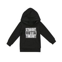 kleinkindjunge 3t sweatshirt großhandel-Mode-Kleinkind-neugeborenes Baby-Mädchen-Hoodie übersteigt mit Kapuze Sweatshirt im Freien 0-5T