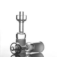 kuvars taşı kadın toptan satış-ST-626 Kuvars Yalak Ile Kuvars Banger Tırnak Carb Kap Kadın Erkek 10mm 14mm 18mm Cam 90 Derece Için 90 Derece Yağ Kuleleri