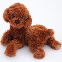 Wholesale poodle plush toy - Dorimytrader 40cm Simulation Animal Teddy Dog Plush Toy Big Soft Cartoon Poodle Doll Puppy Toys for Baby Gift 16inch 40cm DY50176