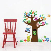 shop owl tree decals for nursery uk owl tree decals for nursery