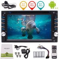 Wholesale car dvd usb sd for sale - Group buy 6 Car radio P Video mirroring Wifi USB SD Quad Core Android6 Car DVD Player Double Din Car Stereo GPS Navigation