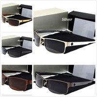 Wholesale high quality spectacles - Brand Designer High Quality Mens Polarized Driving Outdoor sports Sunglasses Metal Frame spectacles For Men Luxury Glasses